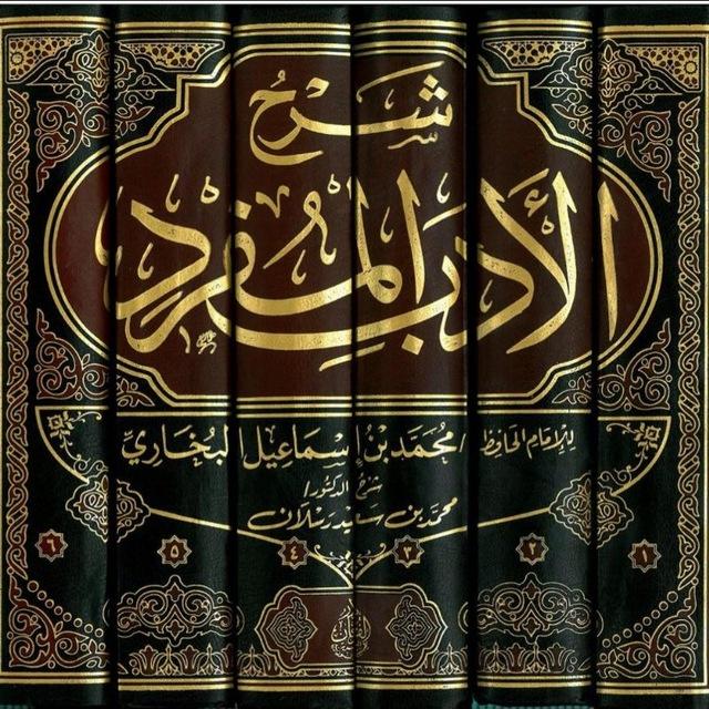 شرح كتاب الأدب المفرد لشيخ عبد الرزاق البدر حفظه الله.